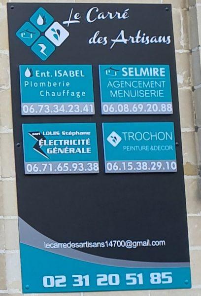Le carré des artisans - SELMIRE AGENCEMENT - à Falaise (14)